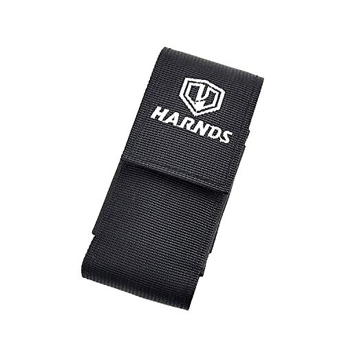 Harnds AK4011 Nylon Sheath with Belt Clip Multi Tool Holster with Elastic Side Panels Knife Pouch