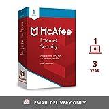 McAfee Internet Security (Windows / Mac / Android / iOS) - 1 User