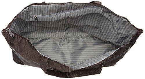 [ハピタス]折りたたみトートバッグキャリーオン可能豊富な柄メンズ158チドリブラウン