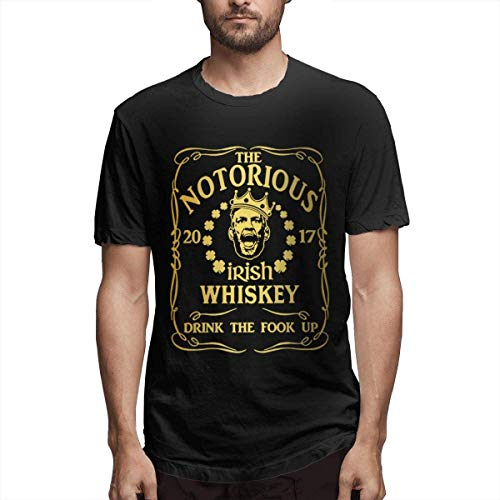 Herren/Men's Printed Unique Print with Notorious Irish Whiskey Weekends Shirts