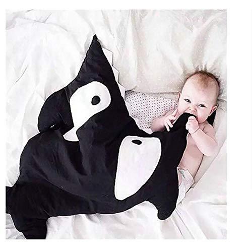 Schlafsack Kinder Baumwolle Anti-Kick-Quilt Herbst und Winter Baby Quilt Baby Winter warme Hai 95cm0-12 Monate schlafsack baby schlafsack mit
