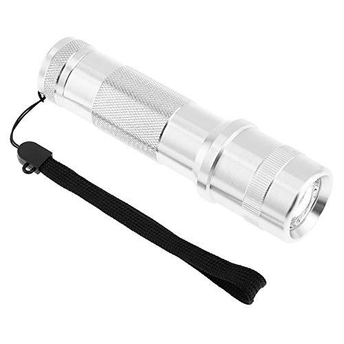 Colorshine - Linterna LED RGB de 3 W con cambio de color, aleación de aluminio, RGB Edison, multicolor, LED, 10 colores