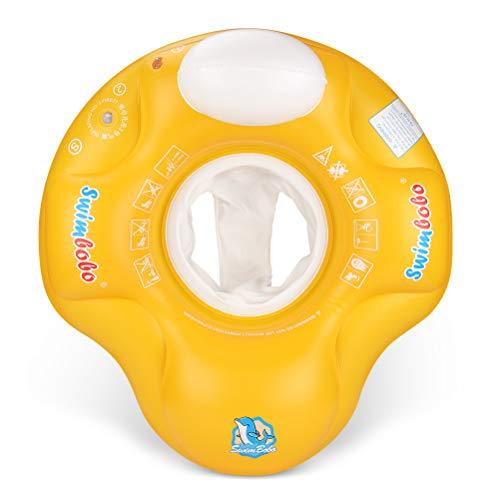 Free Swimming Baby Aufblasbarer Schwimmkörper für 6–24 Monate alte Babys (gelb, S)