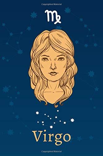 Virgo: Zodiac Astrology Design Journal 6x9 (Astrology Notebook & Zodiac Gifts)