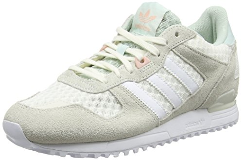 Adidas Damen ZX 700 W Sneaker , Bianco (Casbla / Ftwbla / Vervap) , 43 1/3 EU