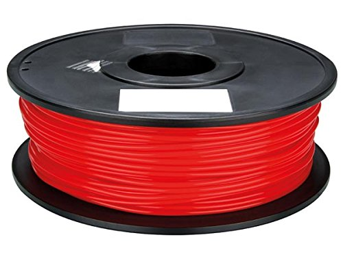 Velleman PLA175R1 PLA Filament for 3D Printers, 1 Grade to 12 Grade, 14172' Length, 1/16' Diameter, Red