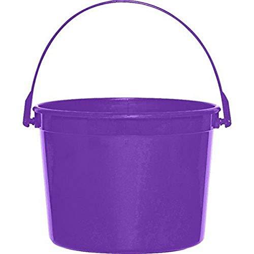 Plastic Bucket | New Purple | Party Accessory