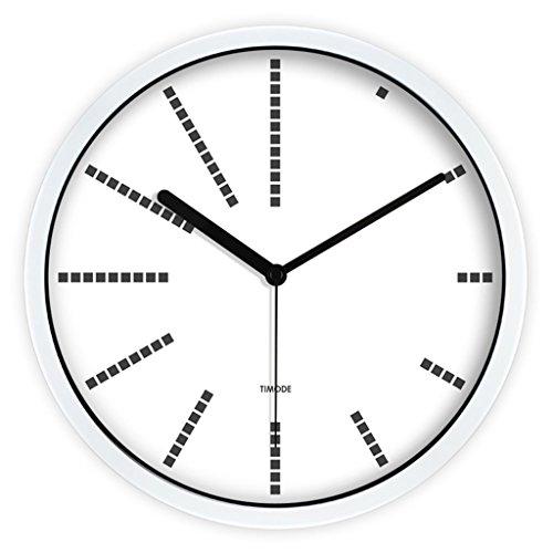 Fashion Wall Clock Salon Chambre Creative AN Horloge murale Mute Salon Rétro horloge murale Chambre à coucher Horloge (Couleur : 1#, taille : 30cm)