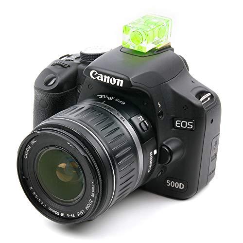 DURAGADGET Nivel Profesional Amarillo para cámara Sigma SD Quattro, Sigma SD Quattro H, Sony A37, Sony A57, Sony a6300, ILCE-6300