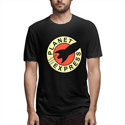 chenche Planet Express - Camiseta de manga corta para hombre - negro - Small