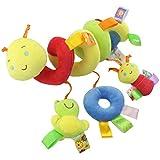 Tomaibaby Cuna juguete orbital juguete caricatura animal peluche cuna orbita juguete carrito bebécarrito juguete educación juguete