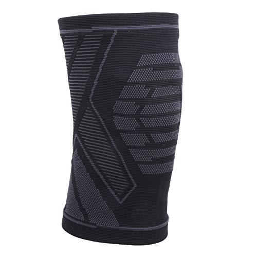Rodillera de nylon de punto de la rodillera del protector de la rodilla respirable para el baloncesto