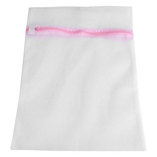DEWIN Bolsa de Lavado, lencería con Cremallera, máquina de lavandería, Ropa de Malla, Calcetines, Sujetador, Ropa Interior, Bolsas(Fine Mesh50*60cm/19.7 * 23.6)