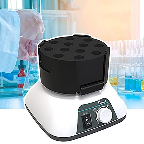 RWQRWQ Labor-Vortex-Mischer, Mini-Vortex-Oszillator, FüR Reagenzglas, ZentrifugenröHrchen, BlutentnahmeröHrchen, 96-Well-Platte, Bakterienkulturplatte,A