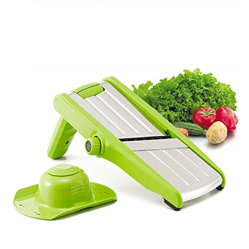 Adjustable Stainless Steel Mandoline Food Slicer Stainless Steel Slicer Vegetable Potato Onion Food Slicer For Salad, The Best Kitchen Accessories The Latest Version