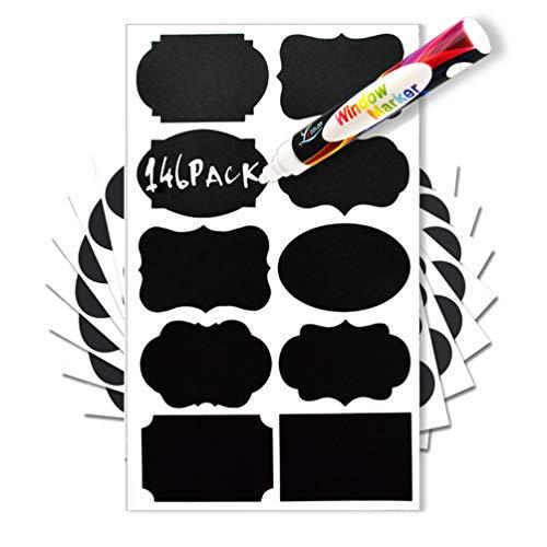 Chalkboard Reusable Labels