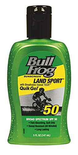 BullFrog Land Sport, Quik Gel Sunscreen SPF 50 5 oz