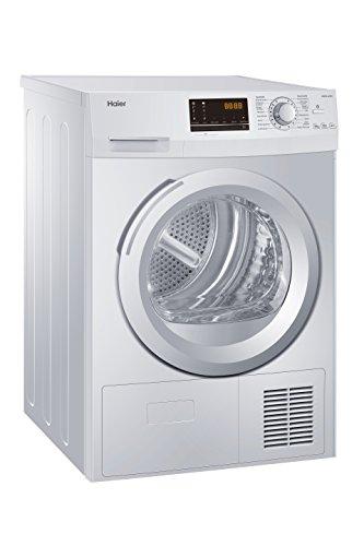 Haier HD90-A636 Wärmepumpentrockner/A++ / Edelstahltrommel/Trommelinnenbeleuchtung/Weiß - 2