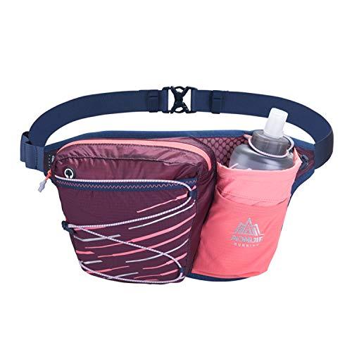 NIID Gürteltasche multifunktionale Bauchtasche Wasser Widerstand Atmungsaktiv Hüfttasche mit Flaschenhalter für Laufen, Wandern, Radfahren, Klettern, Camping Reisen.
