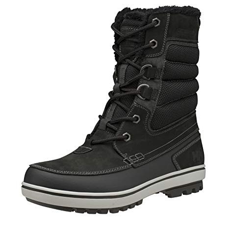 Helly-Hansen Mens Garibaldi Primaloft Waterproof Winter Boot, 991 Jet Black/Ash Grey, 12