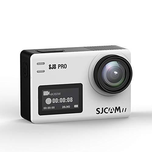 Xyfw Blanco - Cámara De Acción Digital Resistente Al Agua con Pantalla Táctil 4K HD Video 16MP Fotos con Control Remoto