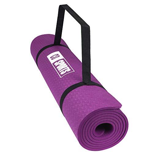 Calma Dragon Esterilla, Colchoneta de Yoga 89828, Antideslizante, Estera para Pilates, con Material ecológico, TPE Mat, diseñado para Entretenimiento y Entrenamiento físico (púrpura 89828) ⭐