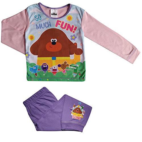 Girls Hey Duggee Pyjamas Children Hey Duggee Sleepwear Age 18 Months to 5 Years 3 4 Years Purple