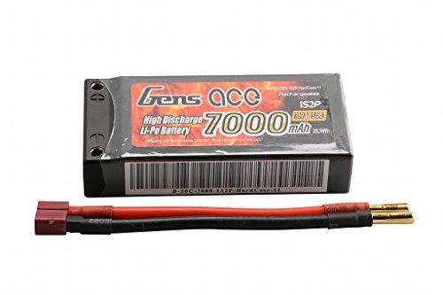 Gène Ace 7000 mAh 3,7 V 50 C 1S2P Rigide Lipo Pack Batterie for Modélisme RC Car Truggy Bâche Boat Truck Voiture Camion Avion toyseug Toys
