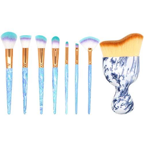Chytaii. Pinceaux Maquillage Cosmétique Kit de Brosse de Maquillage Professionnel 8pcs