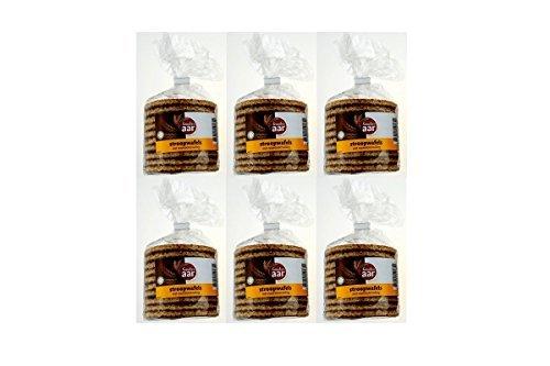 6 x Gouden Aar Stroopwafels 378g 12 Stück Karamell wafelln caramel