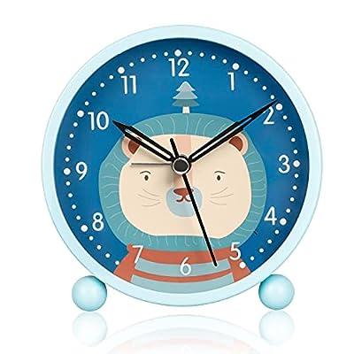 ⏰【Reloj Despertador Infantil Digital】Esfera grande de 5 pulgadas, números estereoscópicos, que permite una lectura clara y clara. Tamaño: 10,8 x 11,8 cm. Clásico y duradero, muy apreciado por los niños. Es perfecto para decorar habitaciones de niños....