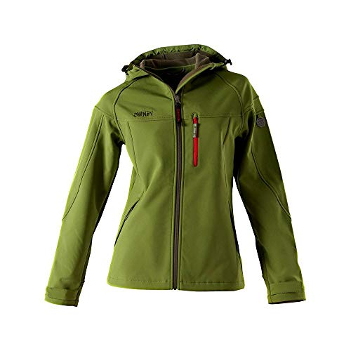 OWNEY OUTDOOR Cerro Jacke Softshelljacke Damen grün Gr. S