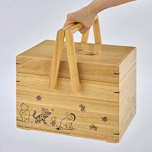 [ベルメゾン]ディズニー裁縫箱トレイ付き裁縫箱・収納くまのプーさん