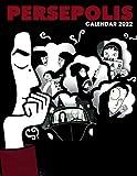 Persepolis 2022 calendar: Cartoon calendar, 2022-2023 calendar - 18 month- TÊN OFFICIAL monthly planner.Gifts boys girls kids and all Fans
