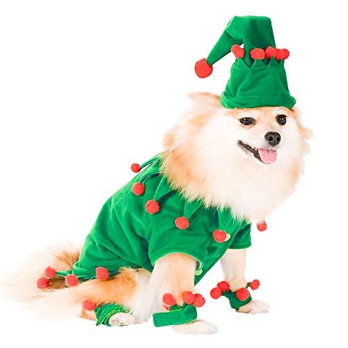 GZQ 2019 Weihnachtsschmuck Hut für Haustiere, geeignet für Katzen & Hunde, Weihnachten Kostüm, Hund Weihnachten Hata, Haustier Hund Katze Weihnachten lustige Elf Kostüm Cosplay Kleidung