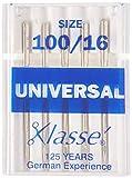 Tacony Corporation Klasse Universal Machine Needles-100/16 5/Pkg