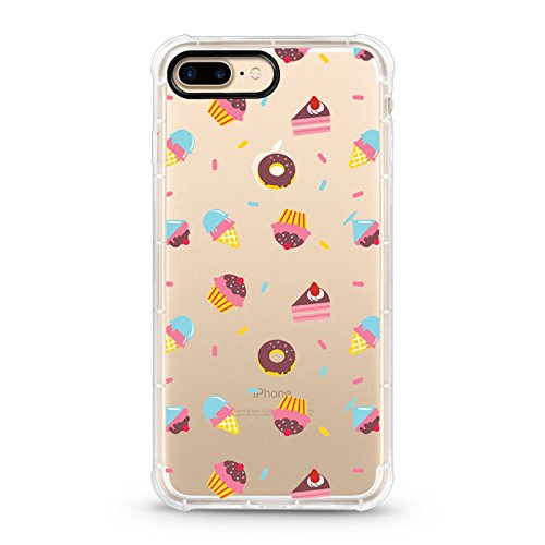Custodia trasparente per Apple iPhone e iPhone, Poliuretano termoplastico., Cose dolci, iPhone X