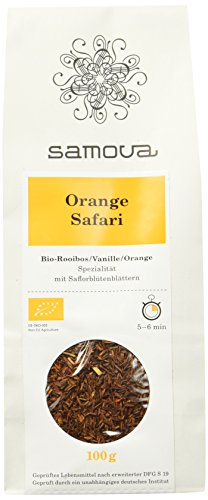 Samova Orange Safari Refill- Bio-Rooibos 100g, 1er Pack (1 x 100 g)