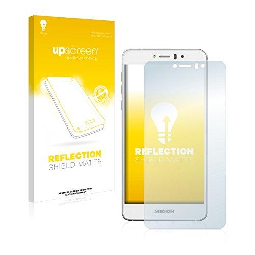 upscreen Entspiegelungs-Schutzfolie kompatibel mit Medion Life X5004 (MD 99238) – Anti-Reflex Bildschirmschutz-Folie Matt