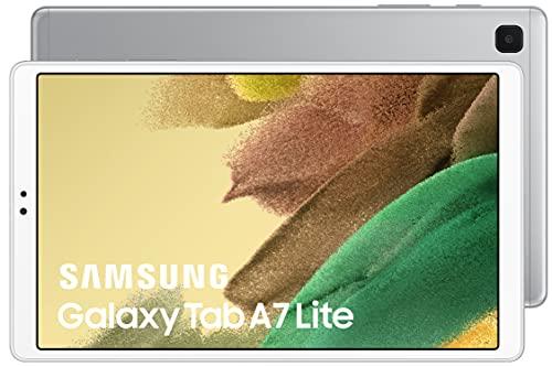 Samsung- TabletGalaxyTabA7 Lite de 8,7 Pulgadas conWi-Fi y Sistema Operativo AndroidI Color Plata (Versión Es)