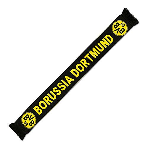Borussia Dortmund, BVB-Schal-Borussia Dortmund, schwarz/Gelb, 0