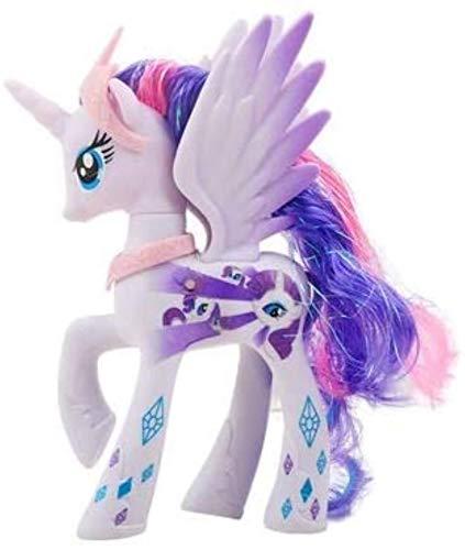 DINEGG Einhorn Makeup Prinzessin Pferd PVC Action Spielzeug Figuren Kinder Spielzeug 14 cm hoch (Farbe: Prinzessin Cadance) YMMSTORY (Color : Rarity)