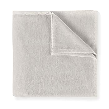 Peacock Alley All Seasons Blanket   Luxury Cotton Blanket   5-Star Hotel Quality   Perfect for Bed or as a Throw Blanket for Sofa   4 Color Options  Flint Twin/TwinXL