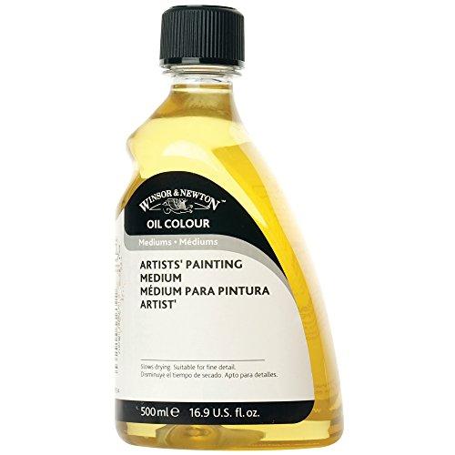 Winsor & Newton Künstler-Malmittel, 500 ml Flasche, farblos, 500ml