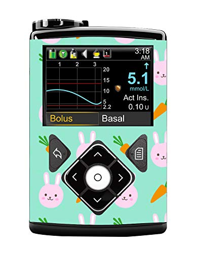 RockaDex Medtronic Pump Sticker Suits 630g,640g /& 670g Watercolour Floral