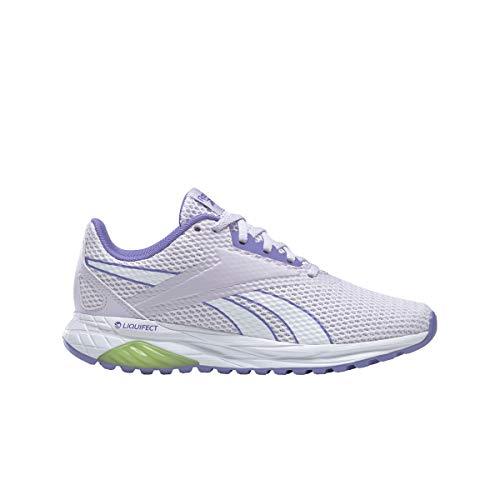 Reebok LIQUIFECT 90, Zapatillas de Running Mujer, LUMLIL/HYPPRL/YELLWF, 37 EU