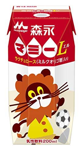 森永 マミー 200ml [ミルクオリゴ糖入り 紙パック 飲料 ドリンク 飲み物 常温保存]×24本