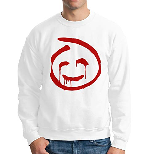 WalAll Men The Mentalist-Red John On Chest Classic Sweaters