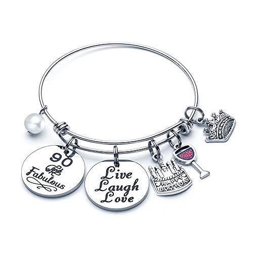 90 and Fabulous Charm Bracelet for Women