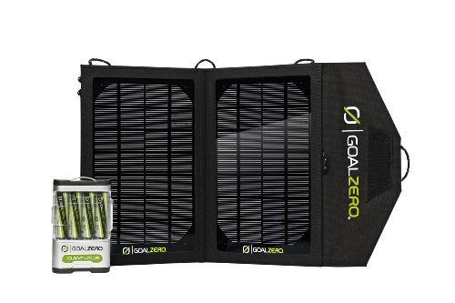 Goalzero 19010 Adventure 10 - Kit para Carga Solar, Color Plateado